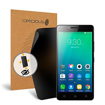 Filtro di Celicious Privacy oltre 4 vie Anti-Spy Screen Protector Film compatibile con Lenovo A6010 Plus