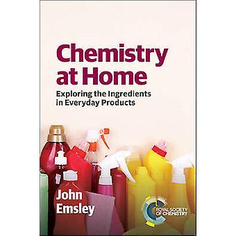 Chimie à la maison - explorant les ingrédients dans les produits de consommation courante par