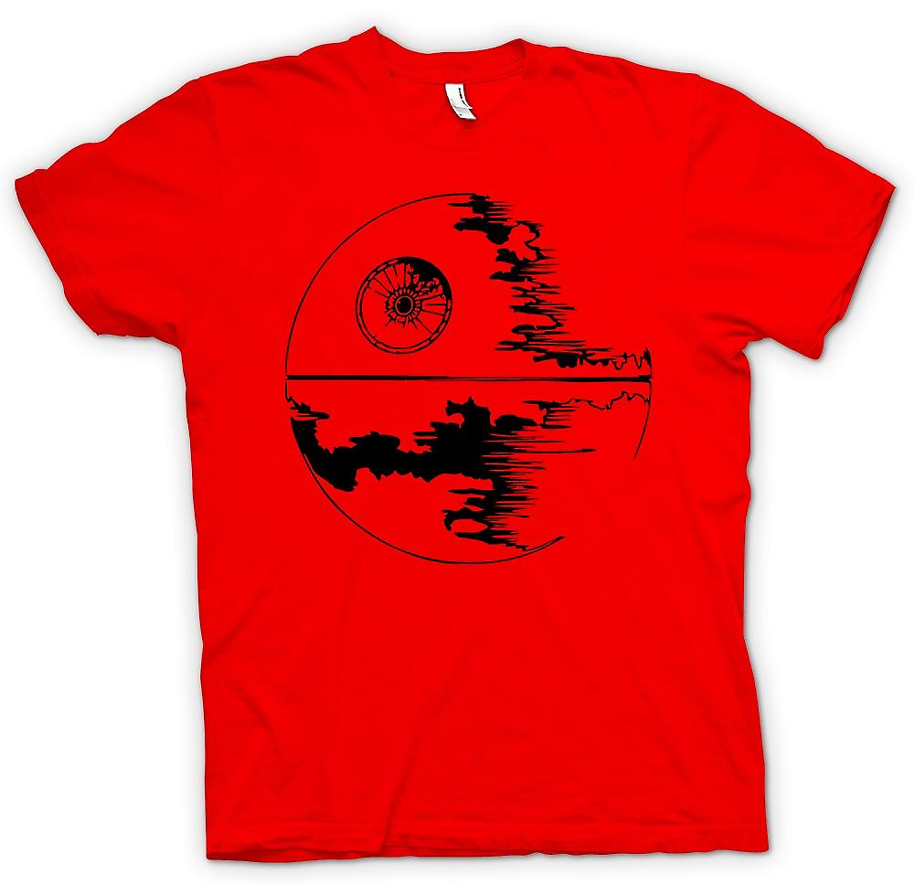 Mens T-shirt - Death Star Under Construction