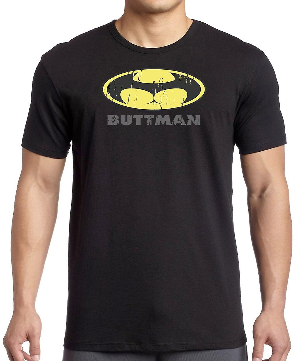 BUTTMAN - grappige grap superheld T Shirt