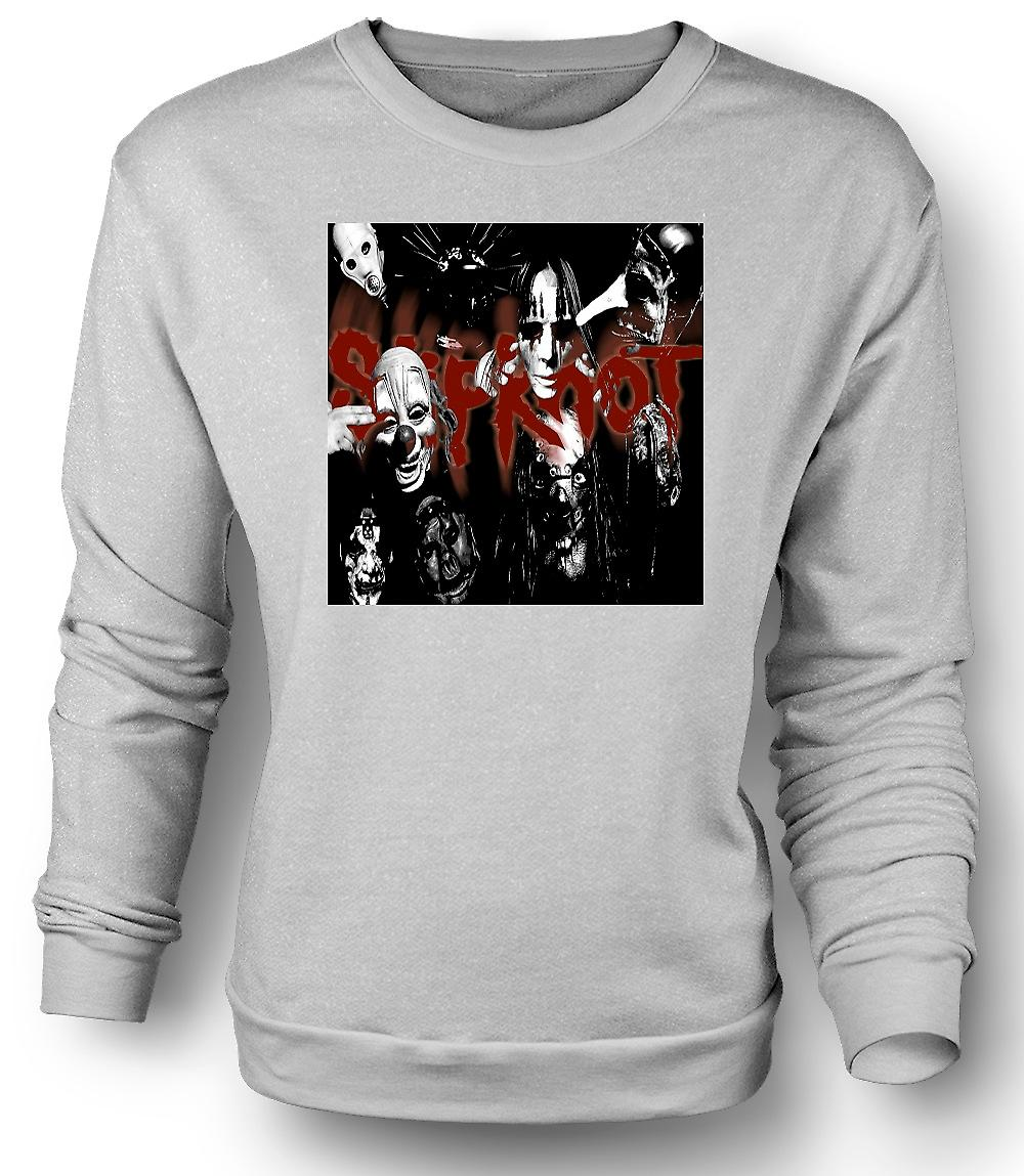 Mens Sweatshirt Slipknot - Heavy metalband