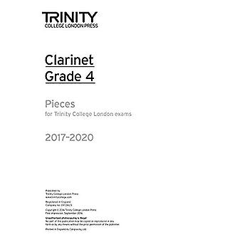 Clarinet Exam Pieces Grade 4 2017-2020 (Part Only)