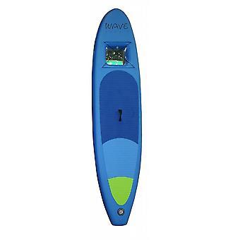 Onda Hawaii Stand Up PaddleBoard, ISUP mit Sichtfenster blau incl. Pumpe & zaino - WH1203