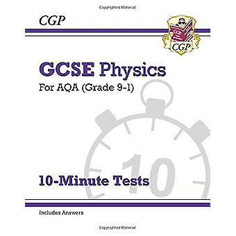 New Grade 9-1 GCSE Physics - AQA 10-Minute Tests (with answers) by CGP