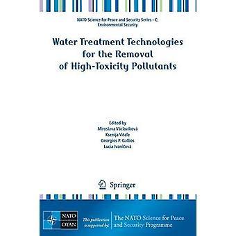 Tecnologías de tratamiento de agua para la eliminación de contaminantes procedentes de HighToxity de VaclavaKova y Miroslava