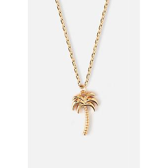Orelia Jewellery Palm Tree Ditsy Necklace