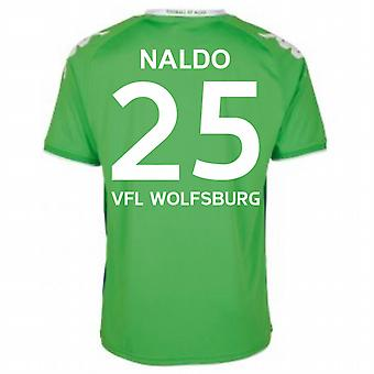 2015-16 Wolfsburg Away Shirt (Naldo 25)