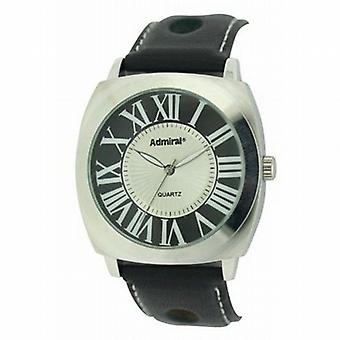 Admiral Gents Analogue Black Ventilated Strap Fashion Watch ADM01/B