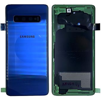 Samsung GH82-18378C battery lid lid for Galaxy S10 G973F + adhesive pad prism blue/Blue New