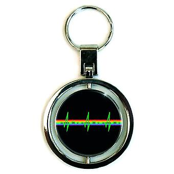 Pink Floyd Dark Side of the Moon Spinning Keyring