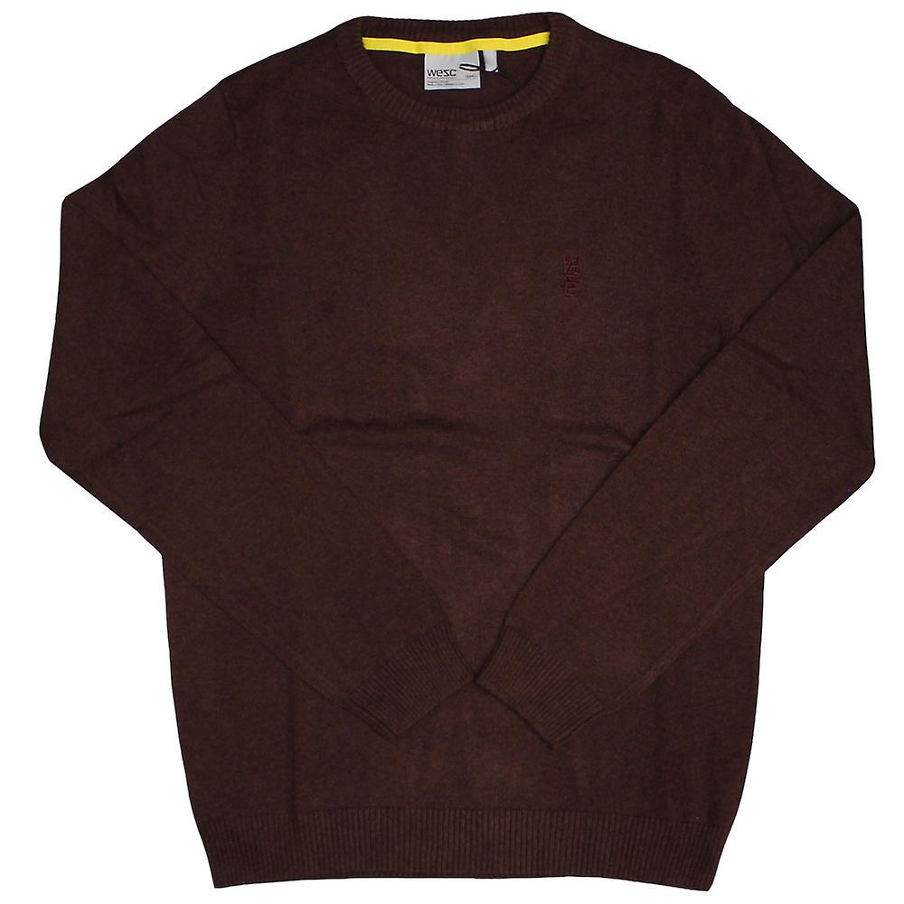 WeSC Anwar knitted Jumper Andorra Red