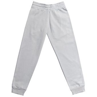 Junior Boys adidas Originals Trefoil French Terry Track Pants In Grey-Ribbed