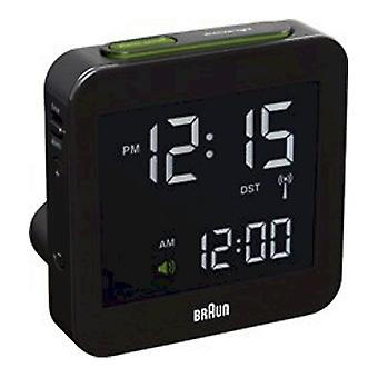 Brown alarm clock BNC009BK-RC-66018