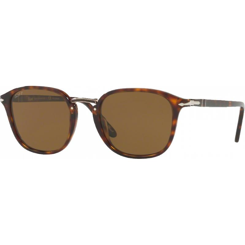 Persol 3186S Medium Ecaille Bcourir Polarisé