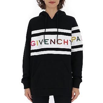 Givenchy hvid/sort bomuld sweatshirt