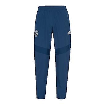 2019-2020 Bayern Munich Adidas Woven Pants (Night Marine)