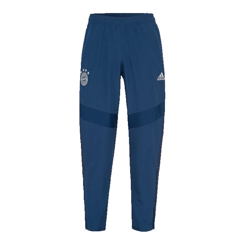 2019-2020 Bayern Munich Adidas Woven Pants (Night Marine)