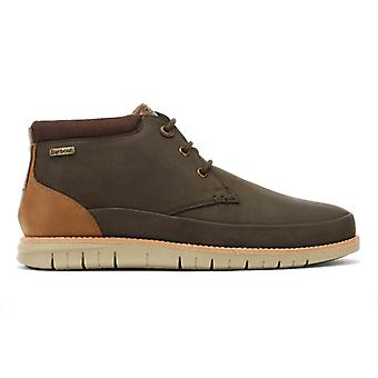Barbour Mens Brown Nelson Boots