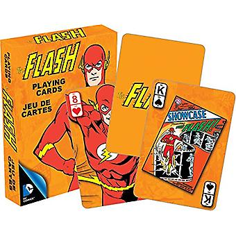 Playing Card - DC Comics - Retro Flash Hero Licensed Gifts Toys 52299
