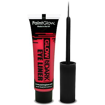 Smiffys Glow In The Dark Eyeliner Red 15Ml (Babies and Children , Costumes)