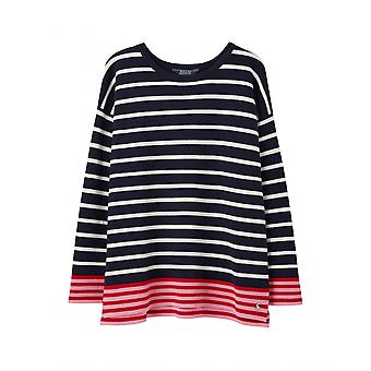 Joules Uma Womens Boat Neck Jumper - French Navy Blue