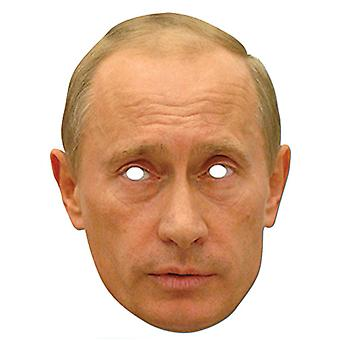Vladmir Putin Russian President Card Party Face Mask