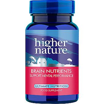 Higher Nature Advanced Brain Nutrients, 30 veg caps