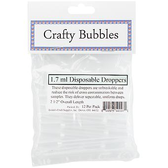 Disposable Droppers 1.7ml 12/Pkg-  33408