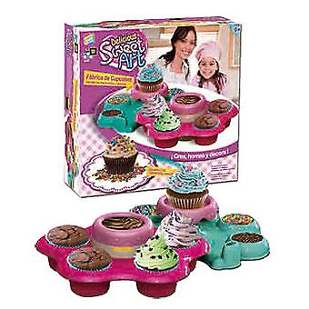 Cefa Sweet Art: Factory Cup Cakes (Toys , Educative And Creative , Chef-Zone)