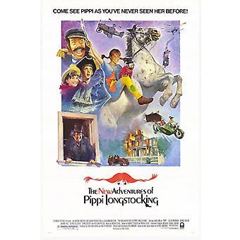 مغامرات جديدة لطباعة ملصق فيلم Pippi Longstocking (27 × 40)