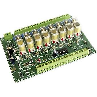 Relay card Assembly kit Velleman K8056 12 Vdc
