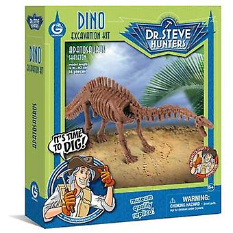 Geoworld Dino Excavation Kit - Skeleton Apatosaurus
