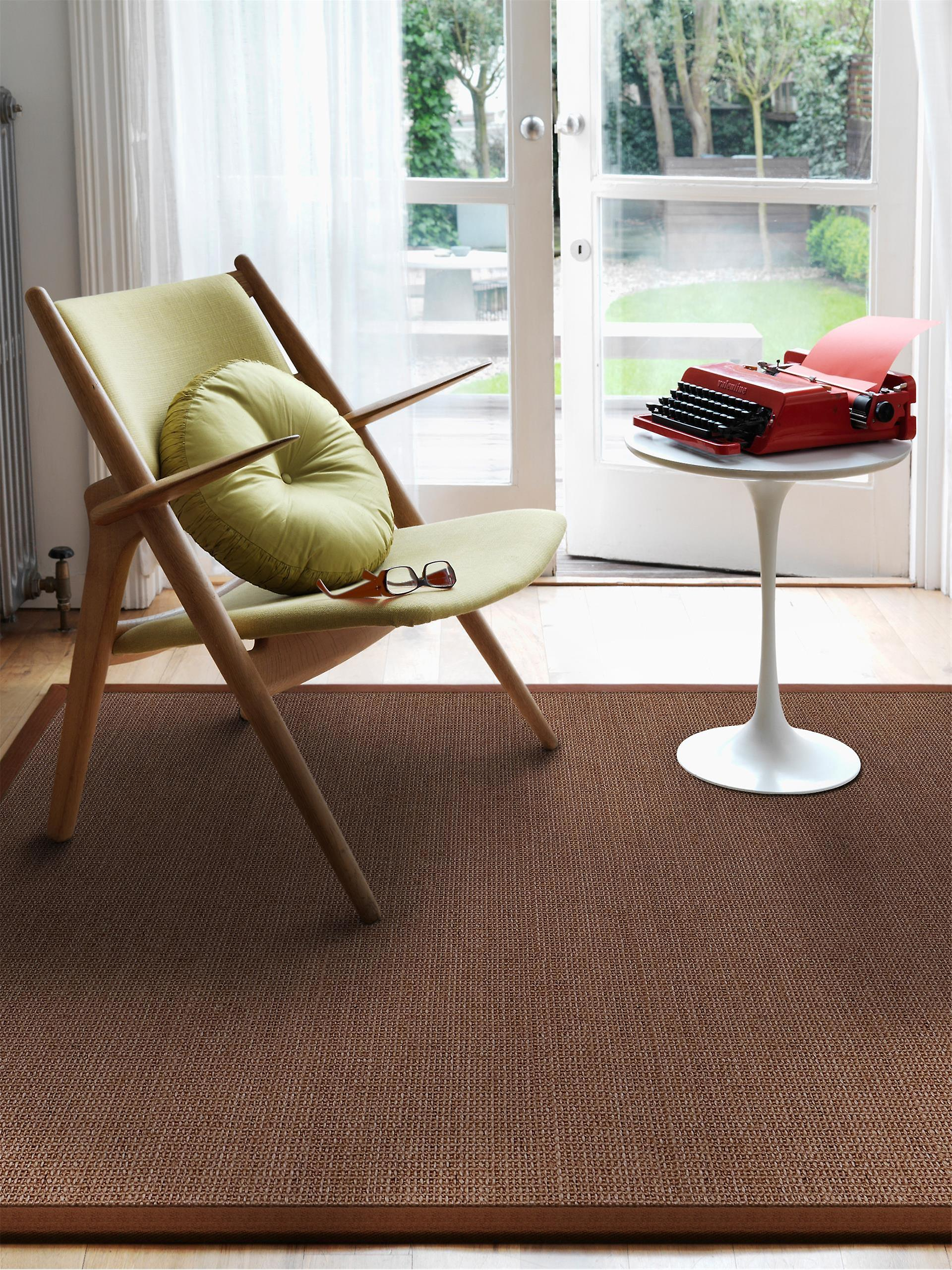 benuta Sisal Rug Brown