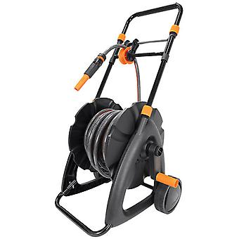 Black and Decker Trolley with hose guide + hose 20m + starter kit 4 pcs.