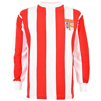 Stoke City 1972 League Cup Retro Football Shirt