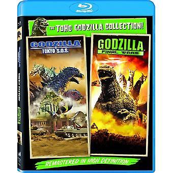 Godzilla: Final Wars/Godzilla: Tokyo Sos [BLU-RAY] USA import