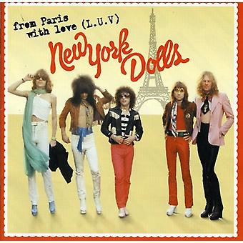 New York Dolls - From Paris with Love L-U-V [CD] USA import