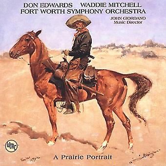 Edwards/Mitchell - en Prairie portræt [CD] USA import