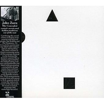 John Zorn - Concealed [CD] USA import