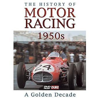 Historie af Motor Racing i 1950s [DVD] USA importerer