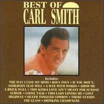 Carl Smith - Best of Carl Smith [CD] USA import