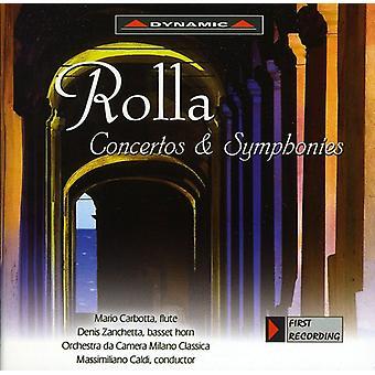 A. Rolla - Rolla: Koncerter & symfonier [CD] USA import