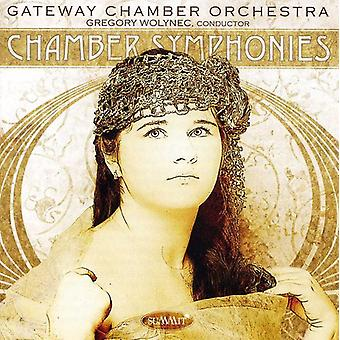 Wolynec:Cnd/Gateway Co - Chamber Symphonies [CD] USA import