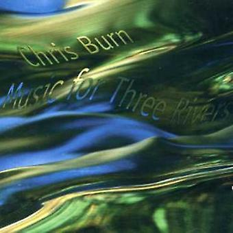 Chris Burn - musik til Three Rivers [CD] USA import