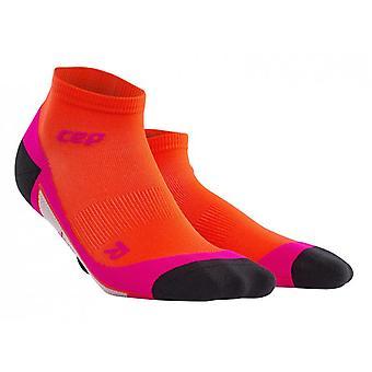CEP dynamisk + low-cut sokker kvinder - solnedgang - pink