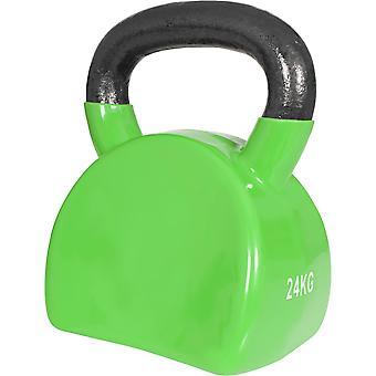 Kettlebell Ergonomisch Hellgrün 24 kg