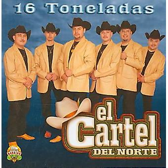 Kartellet De Norte - 16 Tonelades [CD] USA importerer