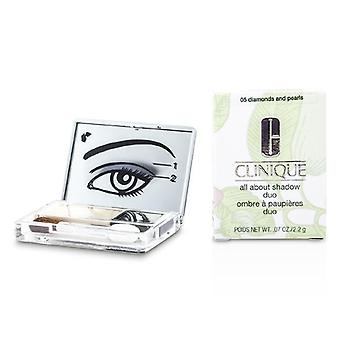 Clinique All About Shadow Duo - # 05 Diamonds and Pearls - 2.2g/0.07oz
