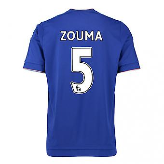 2015-16 Chelsea Home Shirt (Zouma 5)