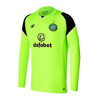 2016-2017 Celtic Home Langarm Torwarttrikot (giftig)
